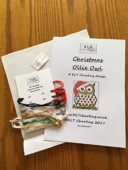 Christmas Ollie Owl Full Kit